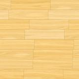 Wooden Parquet Flooring in Light Cream Brown Colors poster