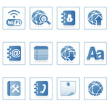 Web icons : communication on mobile