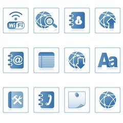 Web icons : communication on mobile