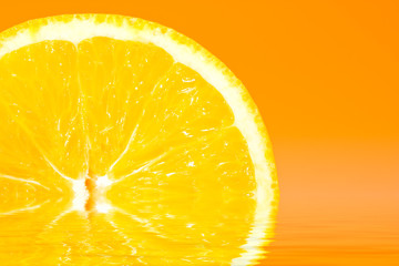 Fresh Sliced Orange