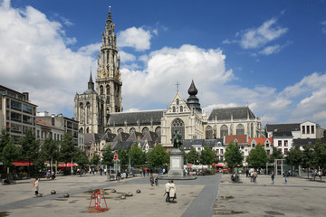 Antwerpen city center