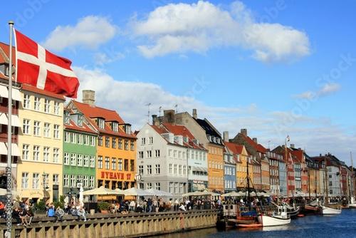Kopenhagen: Nyhavn und Dannebrog - 8881519