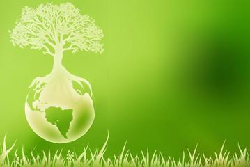 amis de la terre bio vert