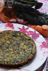Frittata di spinaci e bieta - Antipasto