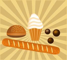 Bakery Goods Illustration