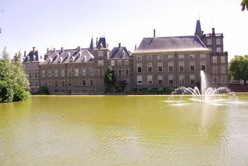 A part of the dutch parliament buildings in teh Hague