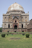 Islamic Tomb in Lodi Gardens, Delhi poster