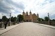 Schweriner Schloss mit Brücke