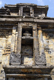 Facade of Arjuna temple on Dieng plateau, Java