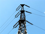 power transmission line poster
