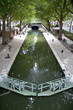 Leinwanddruck Bild - Canal Saint Martin - Paris