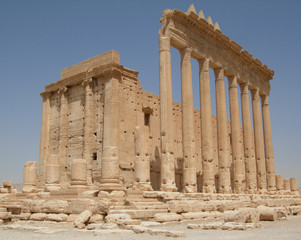 Roman temple at Palmyra
