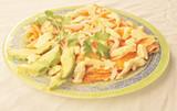 Chicken enfrijoladas with cilantro authentic Mexican food poster