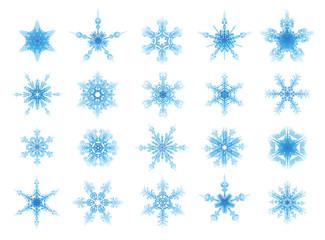 set of vector ornament stars