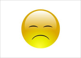 Aqua Emoticons - Sad 3