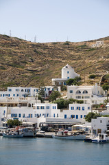 harbor  cyclades architecture greek island ios  greece