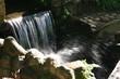 Petite cascade au soleil. Brésil.
