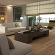 Elegant beige modern interior