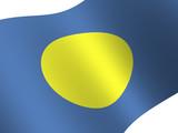National Flag. Palau poster
