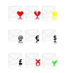 set d'enveloppes
