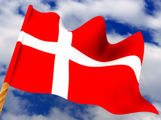Flag. Denmark