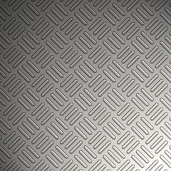 Diamond plate metal texture