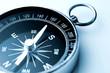 Leinwanddruck Bild - compass