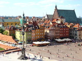 Fototapety Warsaw Old Town