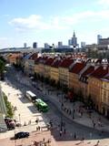 Fototapety Street of Warsaw