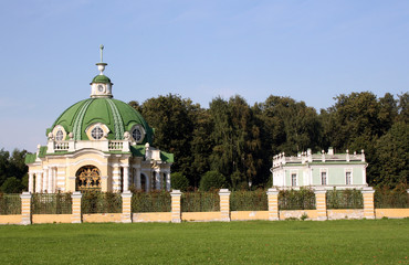 PAVILION THE GROTTO IN ANCIENT MANOR SHEREMETEV