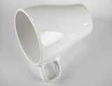 White porcelain cup poster