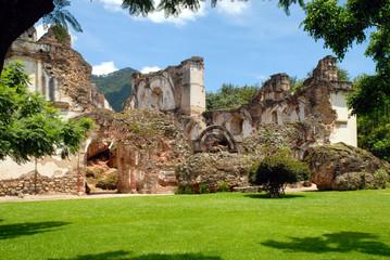 Ruins of La Recoleccion, Church of Antigua Guatemala.
