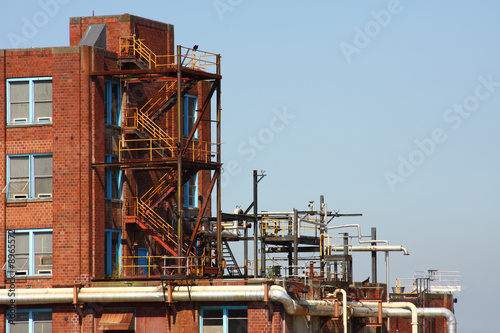 Industrial Brick Building