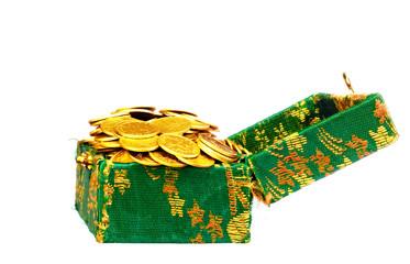 box full of gold