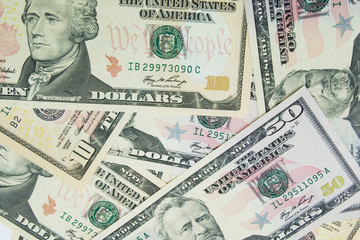lots of dollars  - may be used as background