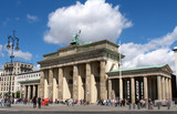 Brandenburger Tor totale v hinten