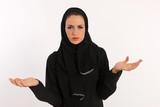 Arab Woman Having Trouble Understanding poster