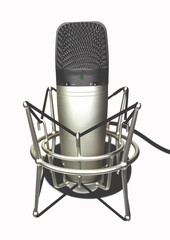 Podcasting Microphone Webinar With Shockmount
