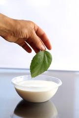prepares cream