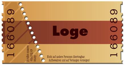 Ticket-Loge