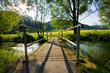 Brücke über den Bach