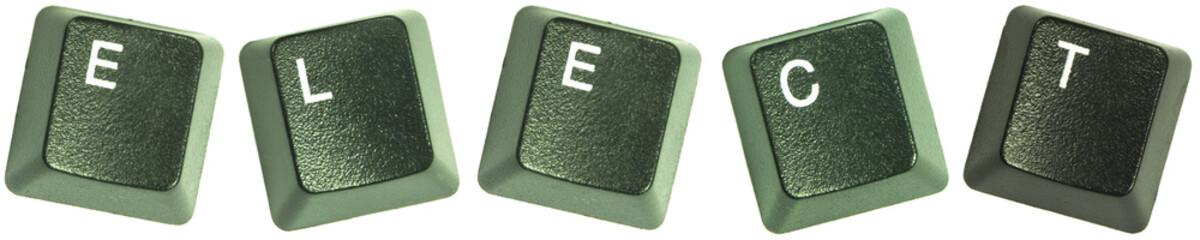 Elect keyboard letters