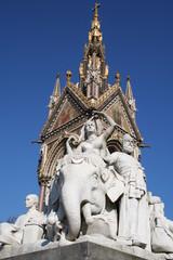 Statue du mémorial Albert de Londres