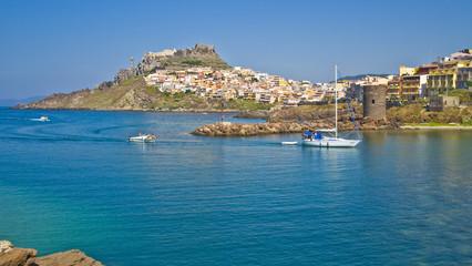 Castelsardo vista dal porto, Sardegna