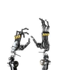 main robot crispé