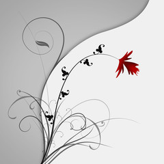 Blume abstrakt