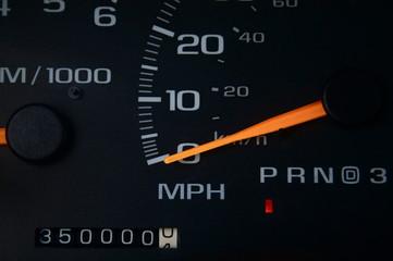 Odometer - 350,000 Miles