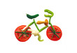 Sliced vegetables in form of a bicycle - 9022158
