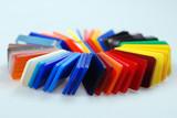 multicolor plastics poster