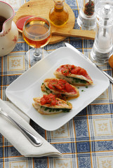 Triglie in rosso - Secondi pesce Toscana